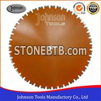 Straight Cutting Wall Saw Blades 760mm With Customized Colors