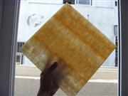 Translucent Wooden Vein Honey Onyx Glass Panel