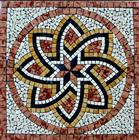 Marble Mosaic Square Medallion