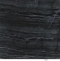 Chinese Marble Antique-Black Wooden