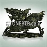Animal sculptures stone cavings stone sculptures