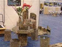 Basalt Stone Tables and Chairs