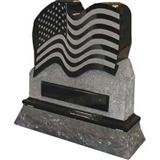American style tombstone