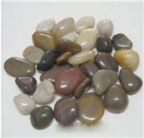 Mixed decorative garden  pebble stone