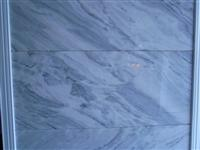 Picasso white marble slab