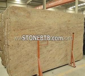 Chanvre Goldb Granite Slabs