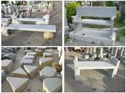 stone bench & table