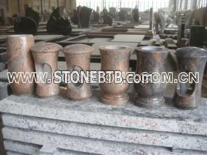 Granite Tombstone Vase