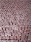 Red porphyry,paving stone