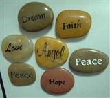 Engraved Pebbles/Engraved Pebble Stones
