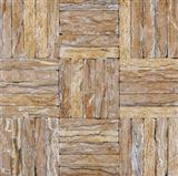 Walnut Travertine Iran Antique Mosaic