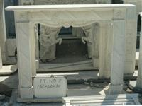 Marble Carved Fireplace
