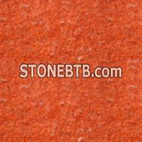 China Imperial red flamed granite