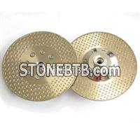 Electroplated Diamond Blade With 2 Sides Stars
