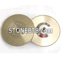 Electroplated Diamond Blade With 1 Sides Stars