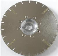 Electroplated Diamond Blade With Protective Teeth