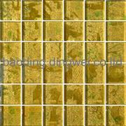 Golden wallpaper glass mosaic