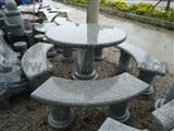 Granite table&chair