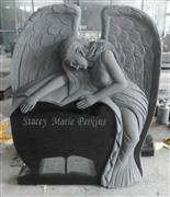 Shanxi black Angel heart monument
