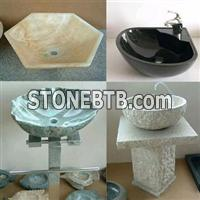 granite and marble sinks, basins