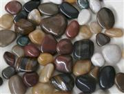 mixed polished pebble stone