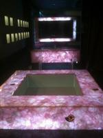 Translucent Agate Bath Top, Vanity Top