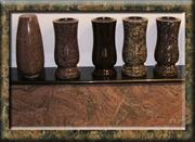 Granite Urn, Tombstone Accessories