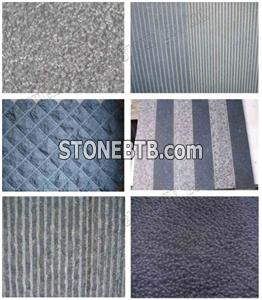 Basalt tile, Chiseled Basalt Tiles