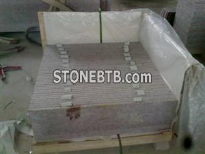 G562 Maple Red Granite Steps, G562 Granite Stairs