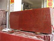 Dyed Red Granite Slabs