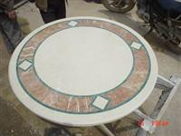 Marble table tops