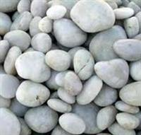 White beach pebble