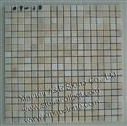 Cream marble mosaic tiles MT-38