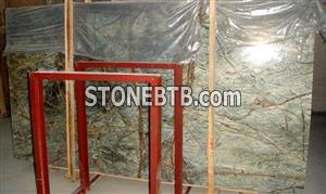 Rain Forest Green Marble Slab
