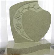 Heart tombstone/Heart monument