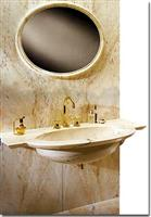 Vanity Top - Wash Basin with Rosa Portugal marble