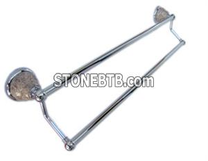 24 inch Granite Double Towel Bars