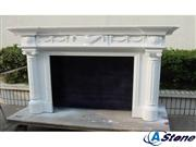Marble fireplace frame,Marble frame
