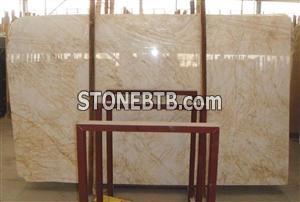 Golden Spider Marble Slab