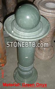 Green Onyx Fountain