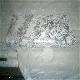 Snow Flower White Granite Countertop