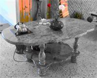 Table with Huaan Jade