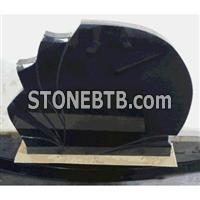 Granite tombstone with different style
