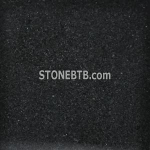 Yimeng black granite tile, own factory
