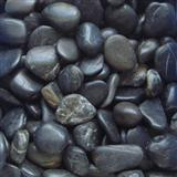 Black color pebble stone