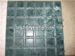 India green marble/Empress green mosaic design til
