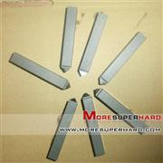 PCD turning tool for machining carbide