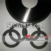 Resin bonded diamond cutting disc without body for glass