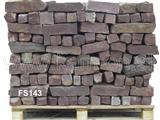 Red Sandstone - prisms chopped