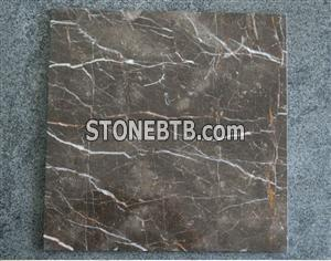 China dark emperador marble tile